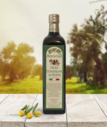 Olio Extravergine in bottiglia da 0.75