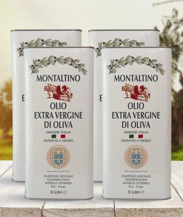 Olio EVO Coratina 5 litri 4 pezzi