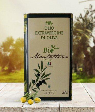 Lattina olio biologico evo 3